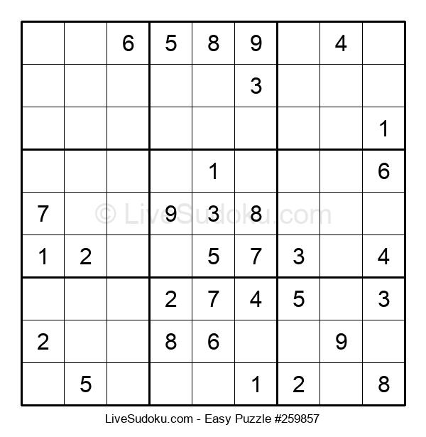 Beginners Puzzle #259857