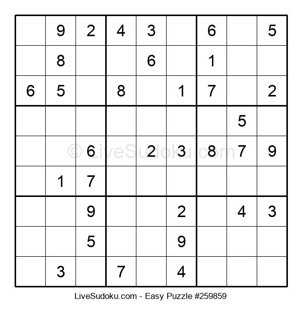 Beginners Puzzle #259859