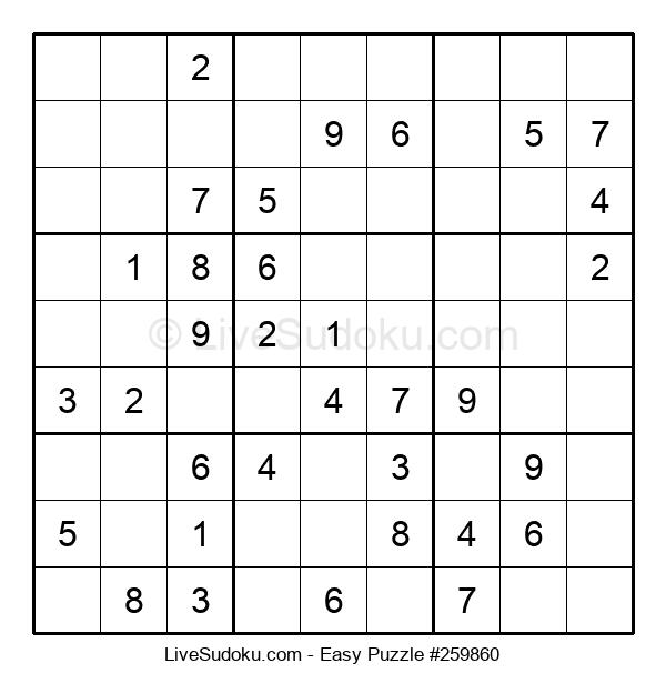 Beginners Puzzle #259860