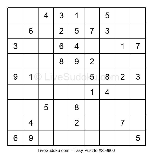 Beginners Puzzle #259866