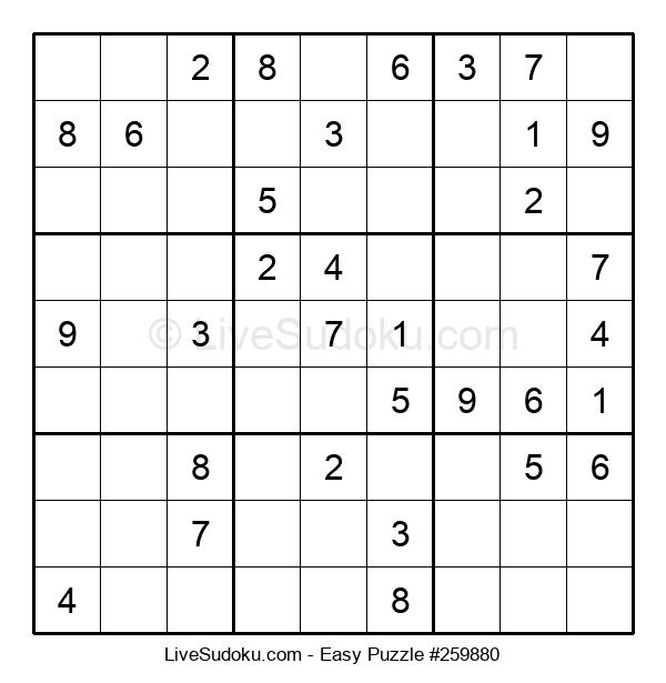 Beginners Puzzle #259880