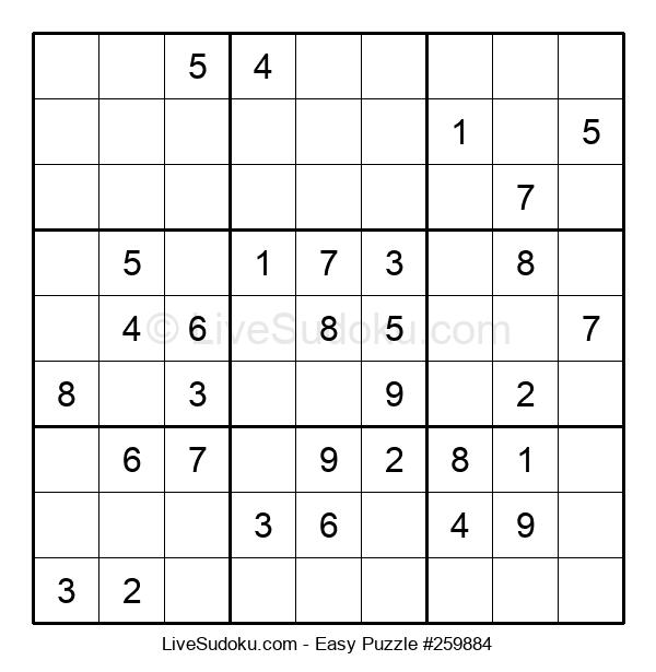 Beginners Puzzle #259884