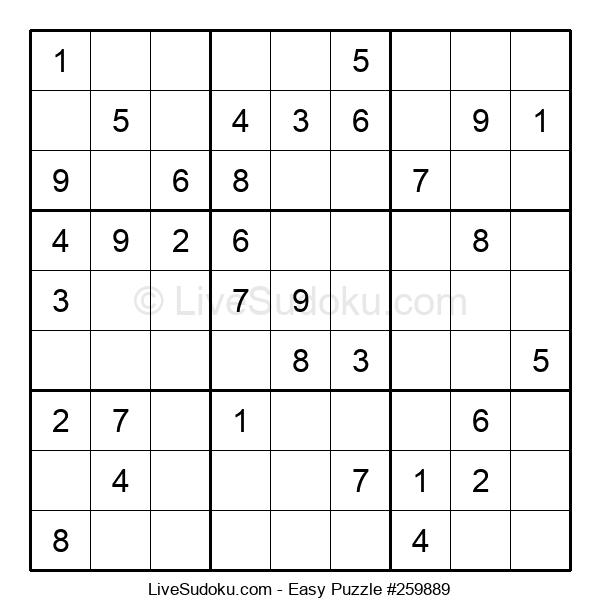 Beginners Puzzle #259889