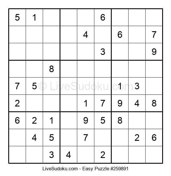 Beginners Puzzle #259891