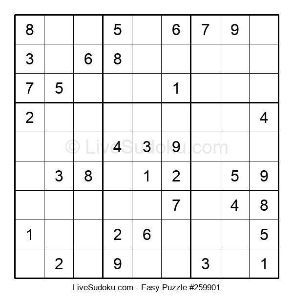 Beginners Puzzle #259901