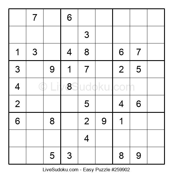 Beginners Puzzle #259902