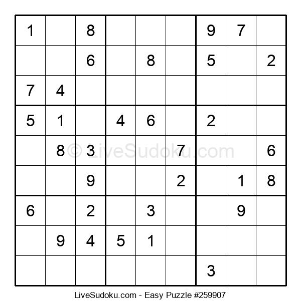 Beginners Puzzle #259907