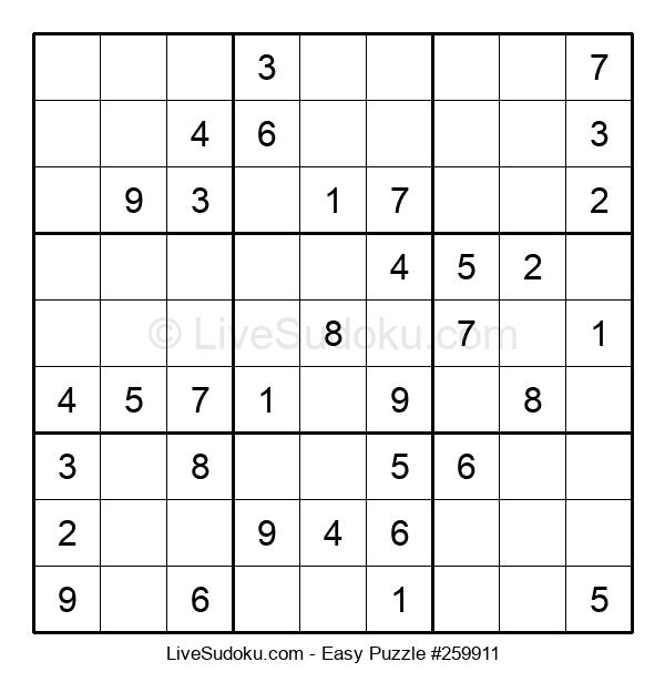 Beginners Puzzle #259911