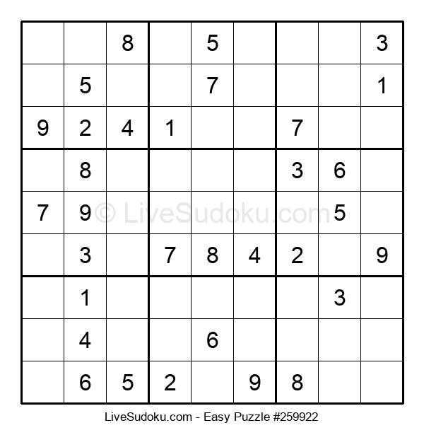 Beginners Puzzle #259922