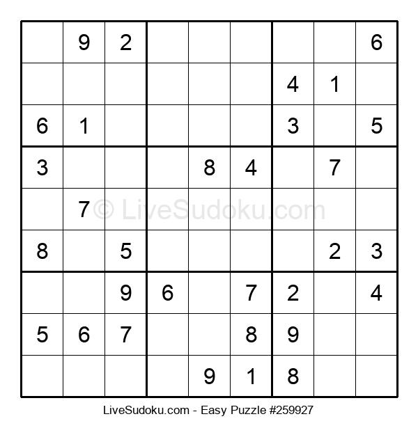 Beginners Puzzle #259927
