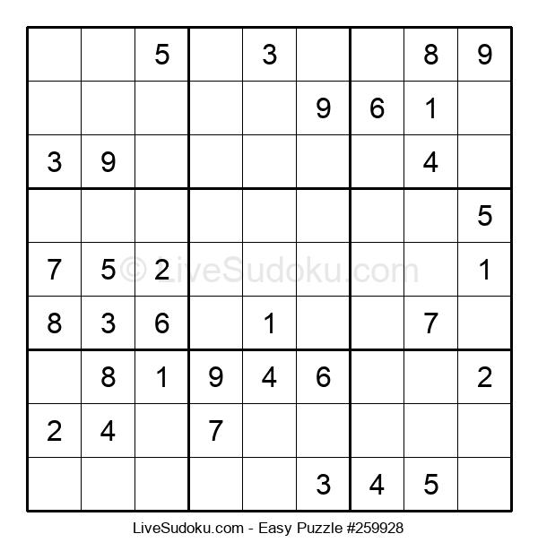 Beginners Puzzle #259928