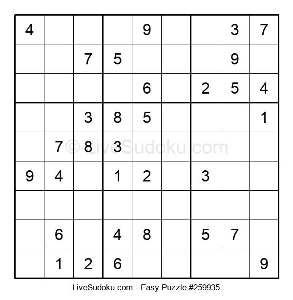 Beginners Puzzle #259935