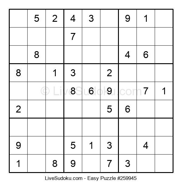 Beginners Puzzle #259945