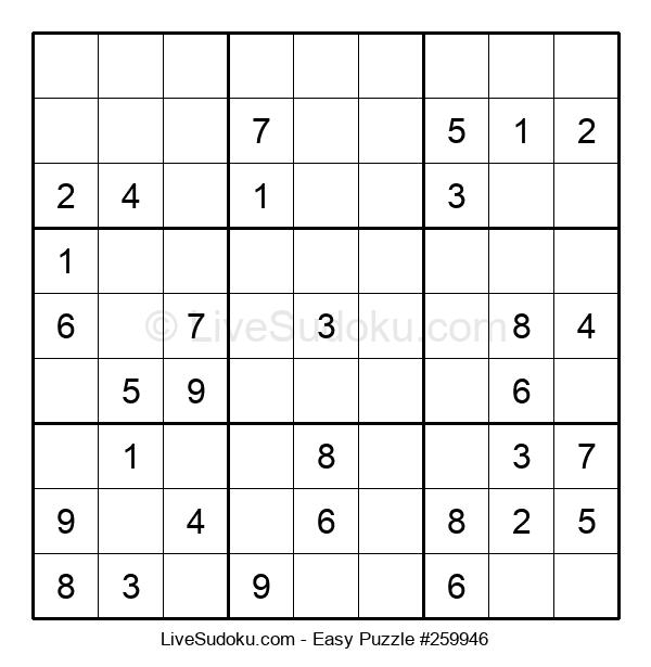 Beginners Puzzle #259946