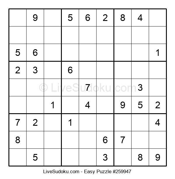 Beginners Puzzle #259947