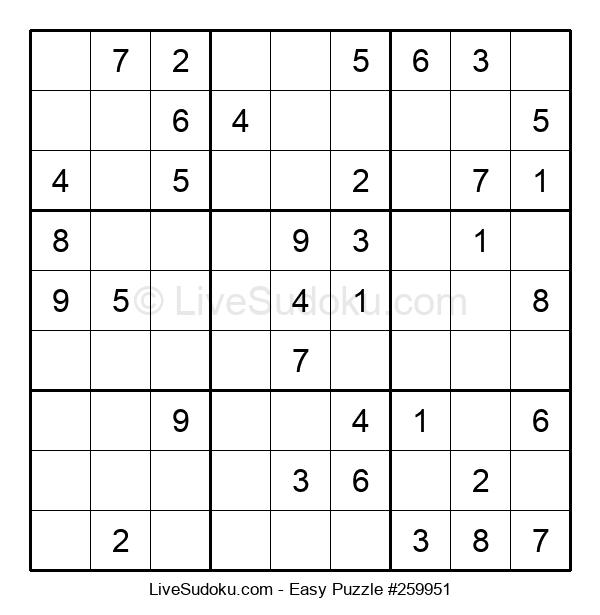 Beginners Puzzle #259951