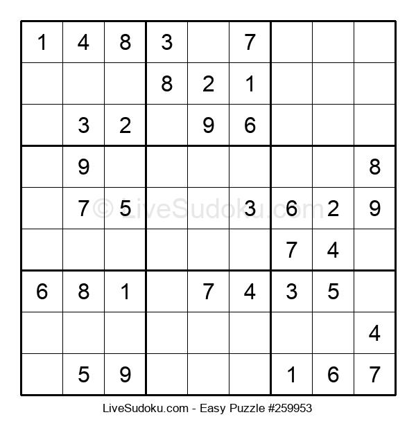 Beginners Puzzle #259953