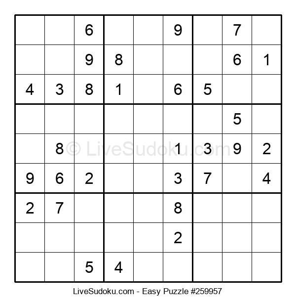 Beginners Puzzle #259957