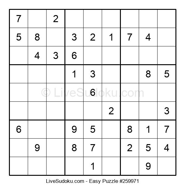 Beginners Puzzle #259971