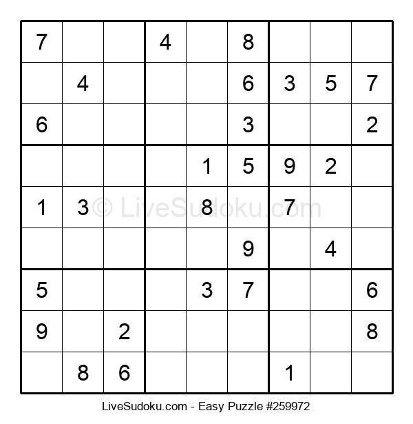 Beginners Puzzle #259972