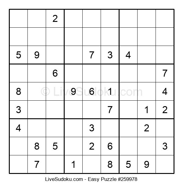 Beginners Puzzle #259978