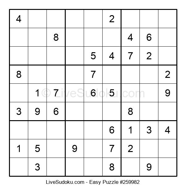 Beginners Puzzle #259982