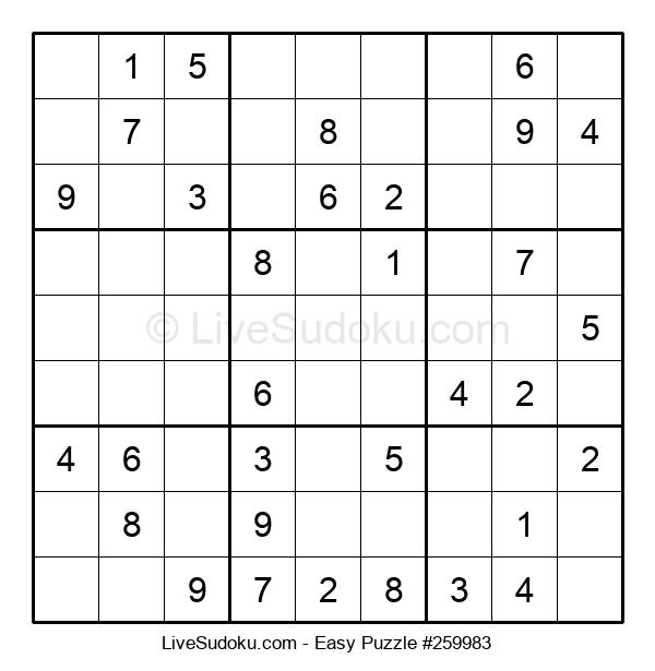 Beginners Puzzle #259983