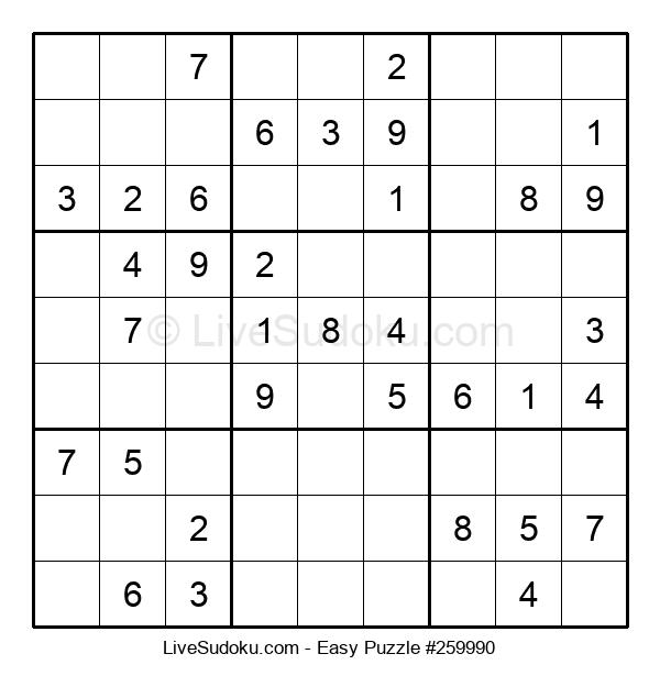 Beginners Puzzle #259990