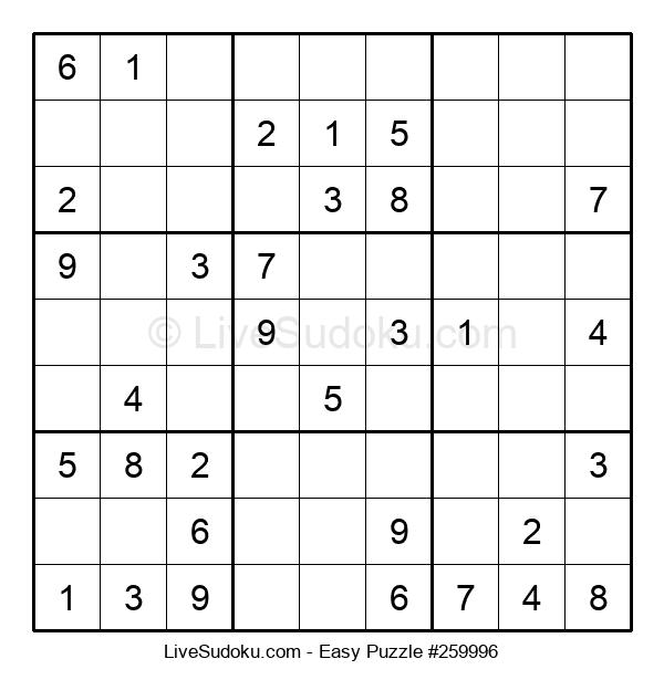 Beginners Puzzle #259996