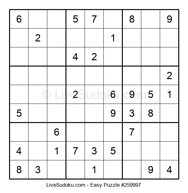 Beginners Puzzle #259997