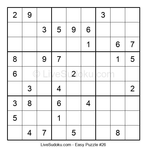 Beginners Puzzle #26