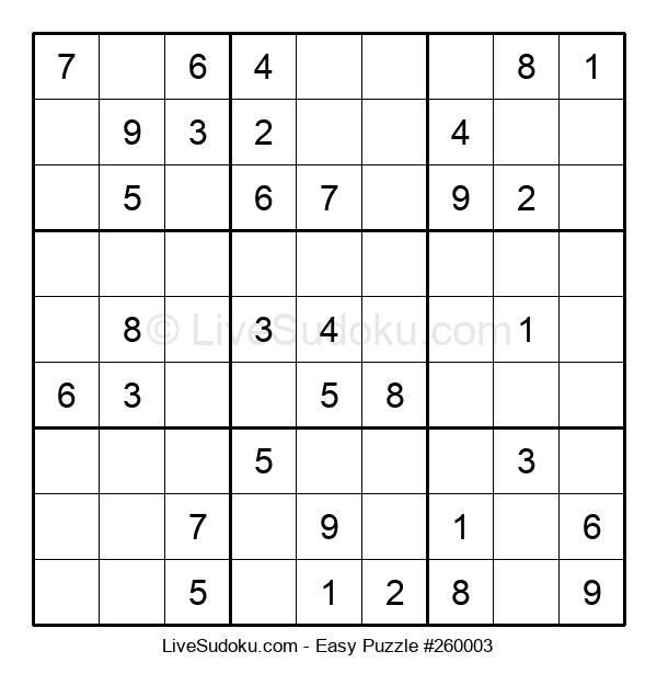 Beginners Puzzle #260003