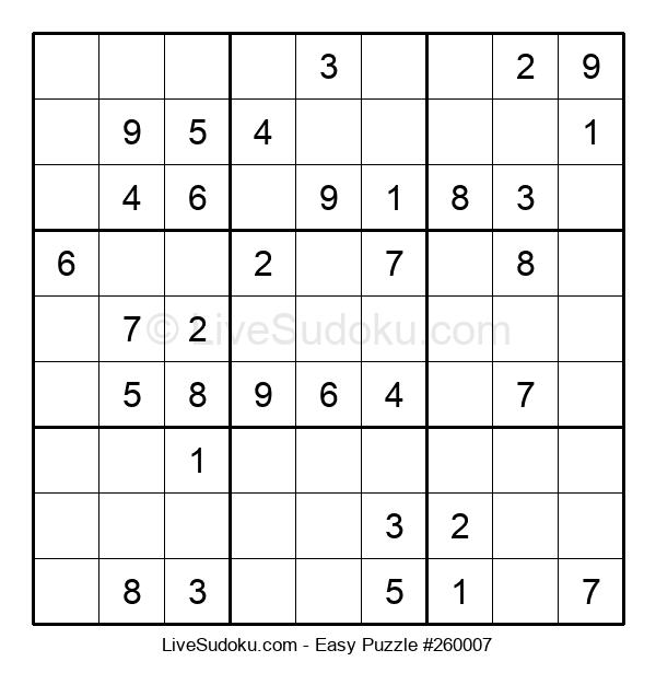 Beginners Puzzle #260007