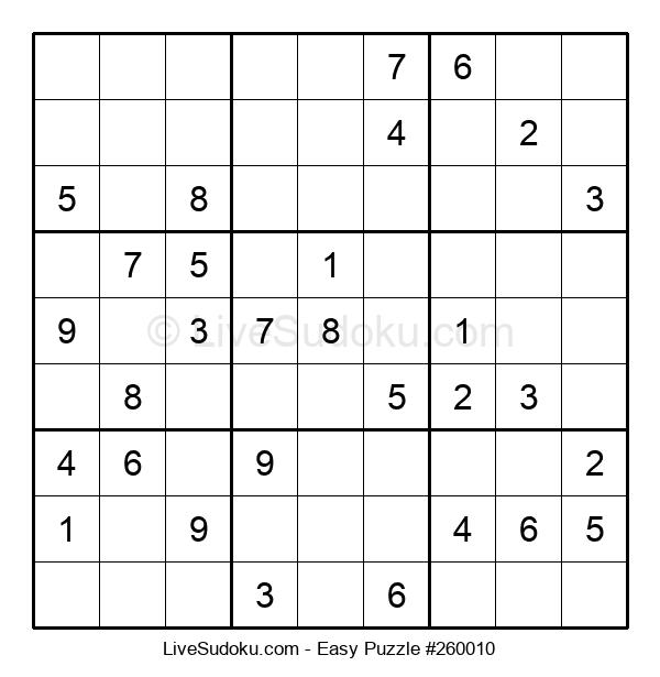 Beginners Puzzle #260010