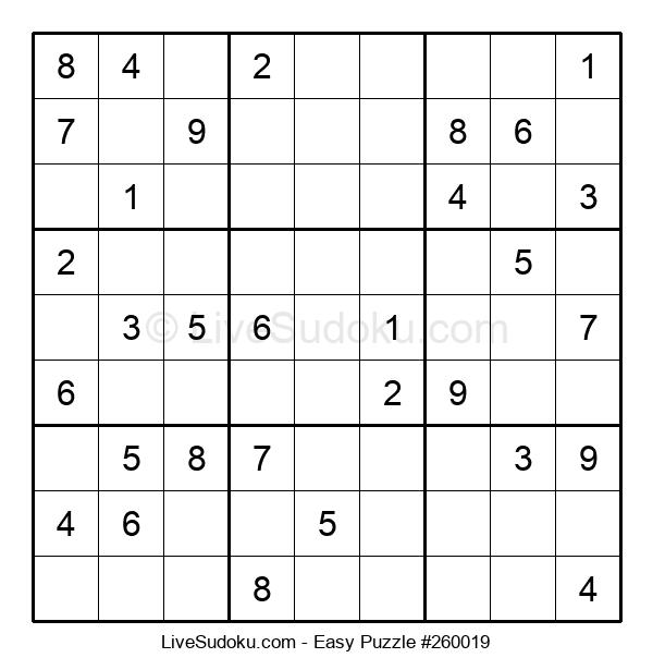 Beginners Puzzle #260019
