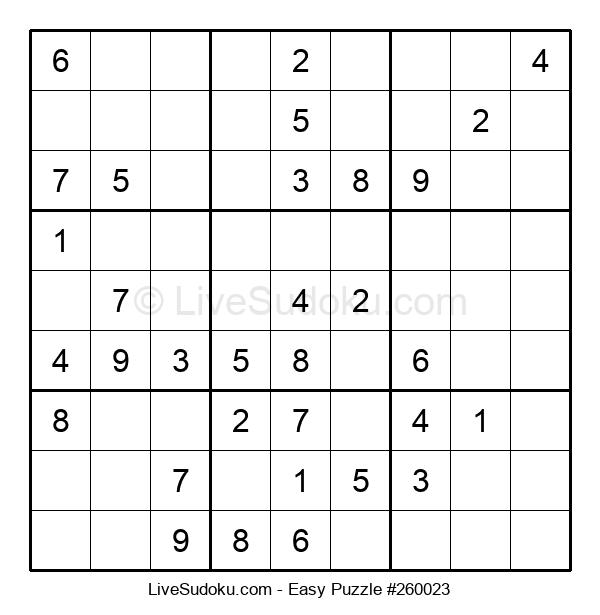 Beginners Puzzle #260023