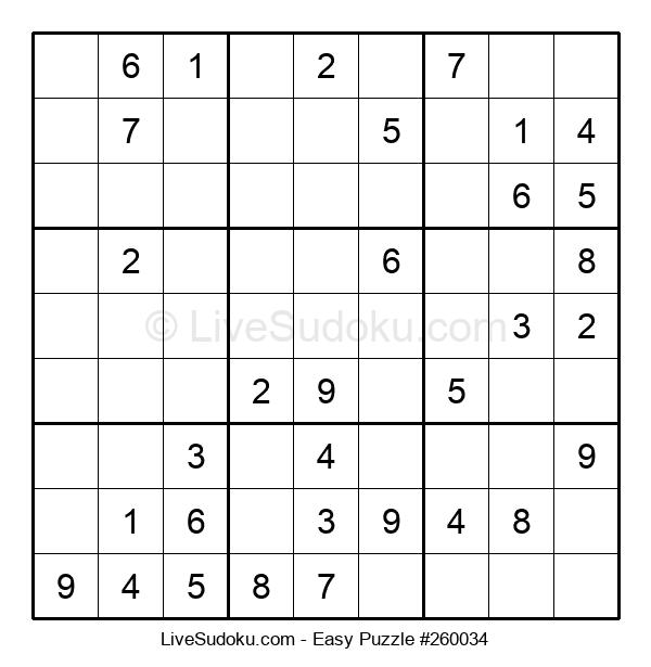 Beginners Puzzle #260034