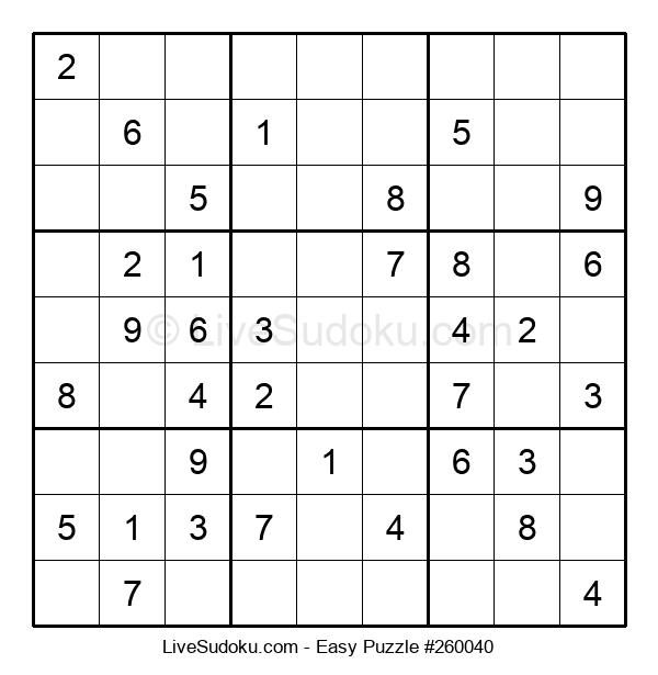 Beginners Puzzle #260040