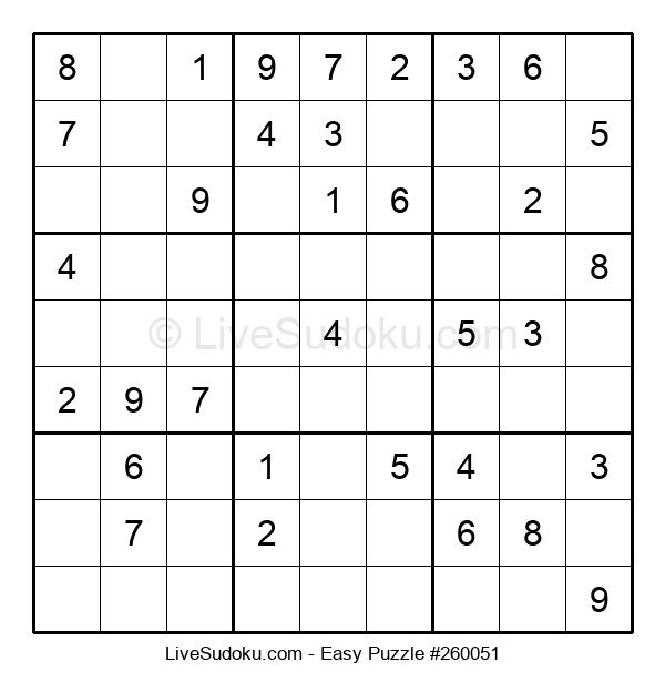 Beginners Puzzle #260051