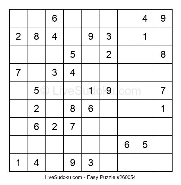 Beginners Puzzle #260054