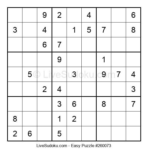 Beginners Puzzle #260073