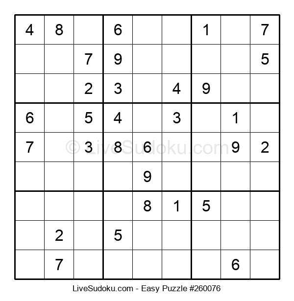 Beginners Puzzle #260076