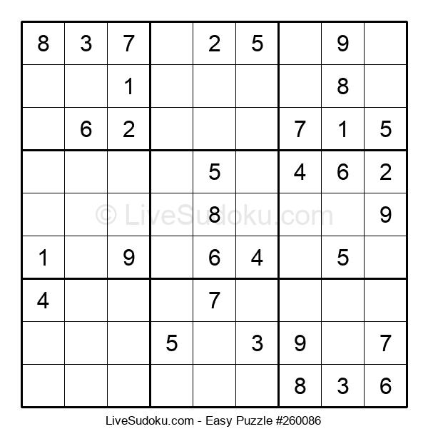 Beginners Puzzle #260086