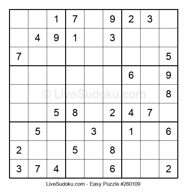 Beginners Puzzle #260109