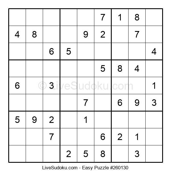 Beginners Puzzle #260130