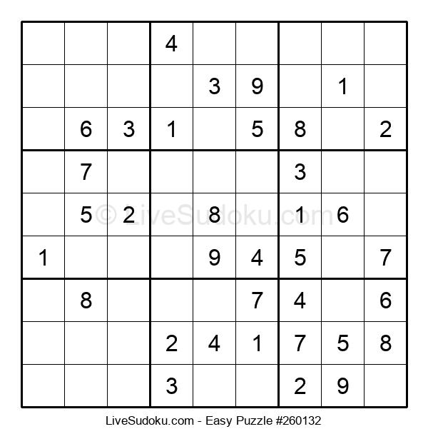 Beginners Puzzle #260132