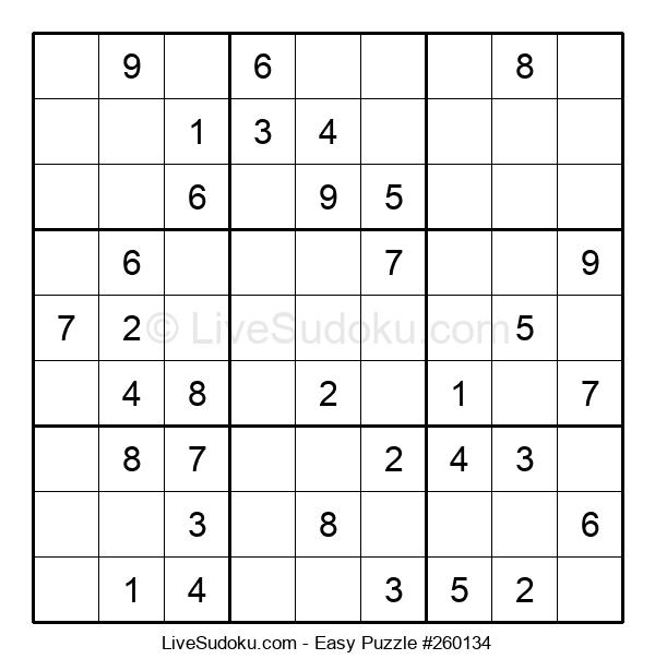 Beginners Puzzle #260134