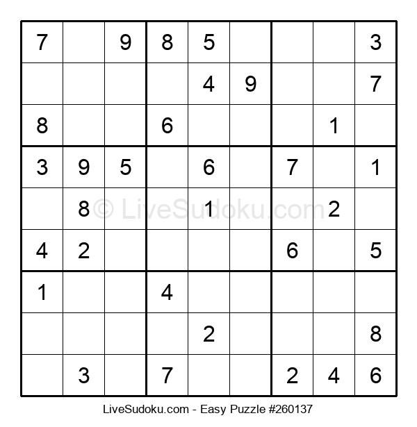 Beginners Puzzle #260137