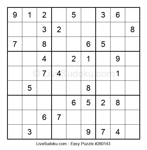 Beginners Puzzle #260143