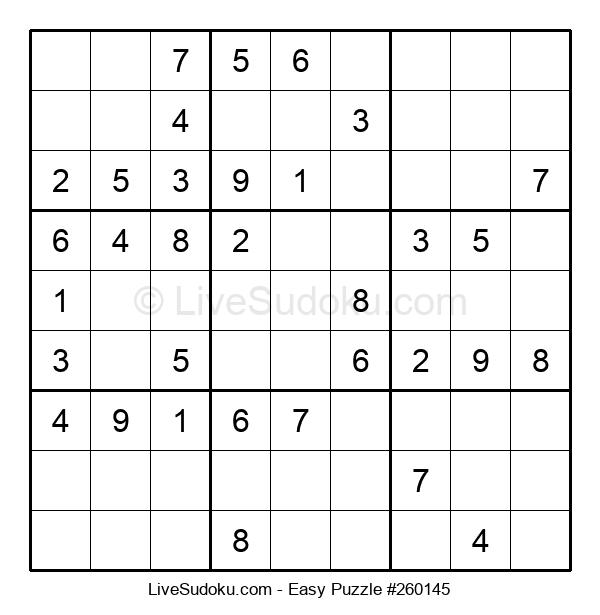Beginners Puzzle #260145